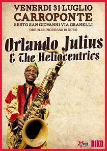 Orlando Julius & The Heliocentrics - Carroponte, Sesto S.Giovanni 31/7/15 4 - fanzine