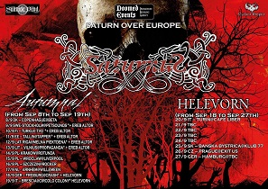 SATURNUS + HELEVORN - 20/9/15 Collegno, Padiglione 14 2 - fanzine