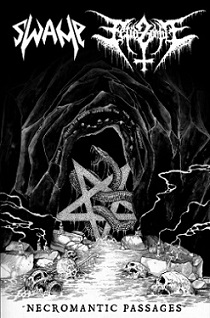 Swamp/Fetid Zombie - Necromantic Passage Split 3 - fanzine