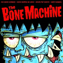 "The Bone Machine – The Bone Machine 7"" 10 - fanzine"