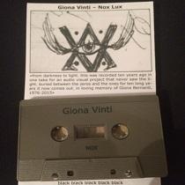 Giona Vinti - Nox/Lux 1 - fanzine