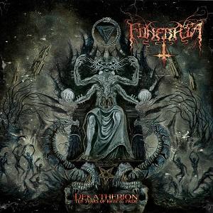 Funebria - Dekatherion: Ten Years of Hate & Pride 1 - fanzine