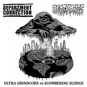 Department Of Correction / Agathocles : Ultra Grindcore vs. Slumbering Sludge 1 - fanzine