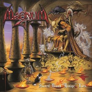 """Magnum - Sacred Blood """"Divine"""" Lies 11 - fanzine"""