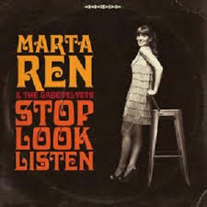 Marta Ren & The Groovelvets - Stop Look Listen 1 - fanzine