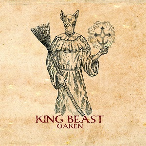 """Oaken - King Beast 12"""" 11 - fanzine"""