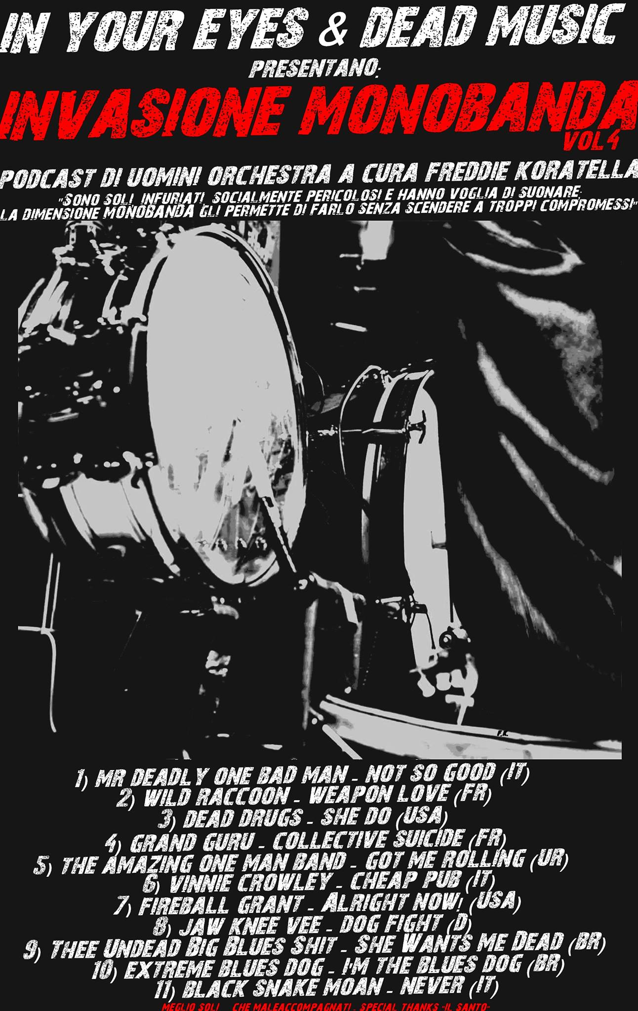 Invasione Monoband vol.4 1 - fanzine