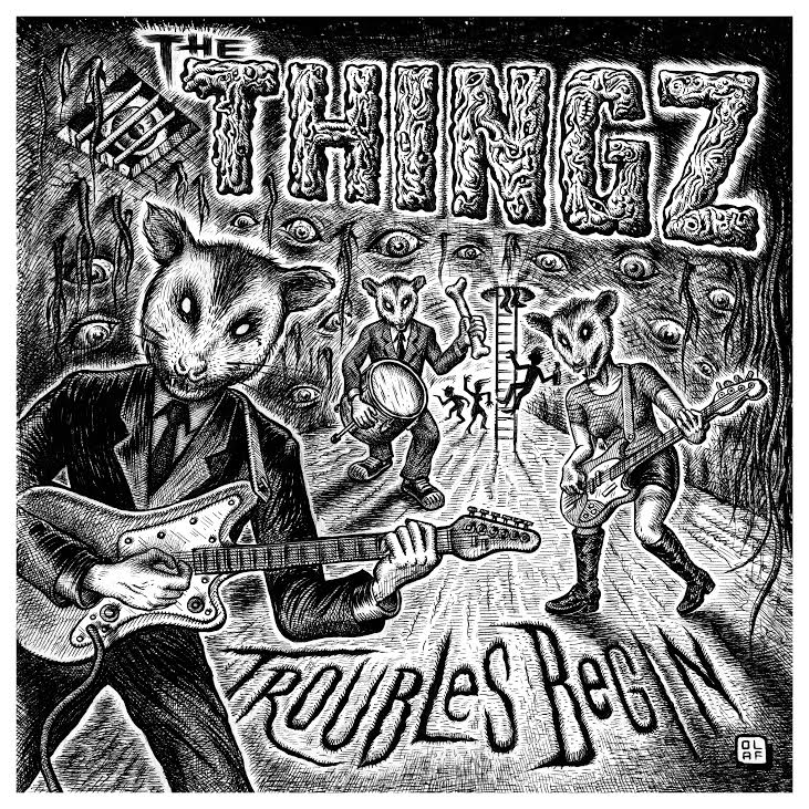 The Thingz - Troubles Begin 1 - fanzine