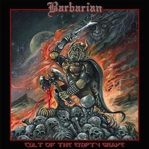 Barbarian - Cult Of The Empty Grave 1 - fanzine