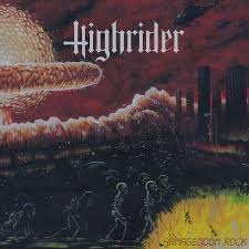 Highrider - Armageddon Rock 1 - fanzine