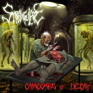 Strangulate - Catacombs Of Decay 1 - fanzine