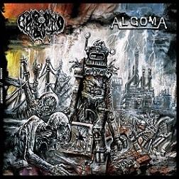 """Algoma / Chronobot – Split 12"""" 1 - fanzine"""