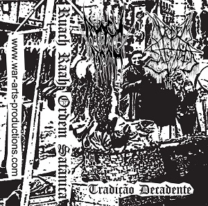 Ruach Raah / Ordem Satanica - Tradiçao Decadente 1 - fanzine