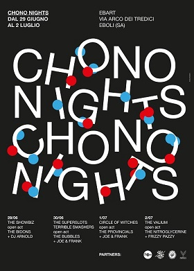 CHONO NIGHTS: a Eburum faboulous festival! 4 - fanzine