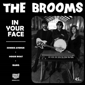 "The Brooms - In Your Face - 7"" 5 - fanzine"
