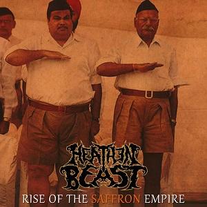 Heathen Beast - Rise Of The Saffron Empire 12 - fanzine