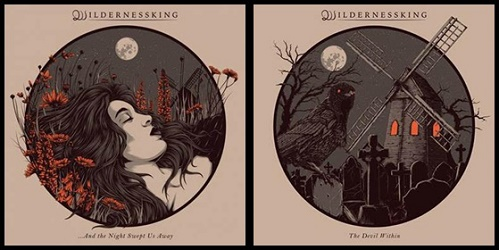 Wildernessking - ... And The Night Swept Us Away/The Devil Within 1 - fanzine