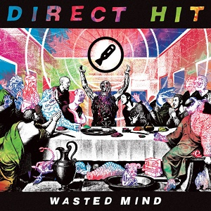 DIRECT HIT! - WASTED MIND 1 - fanzine