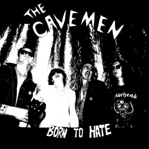 The Cavemen - Born to Hate 1 - fanzine