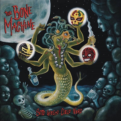 The Bone Machine - Sotto Questo Cielo Nero 9 - fanzine