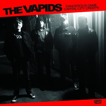 "The Vapids - The Mugwups -Split - 7"" 9 - fanzine"